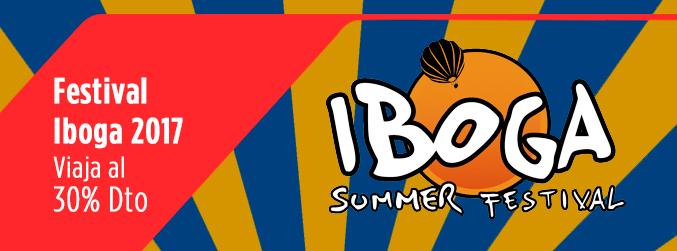 Ir al Iboga Summer Festival con un 30% de descuento en Avanza