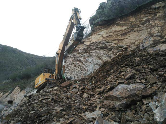 La Rioja define las medidas provisionales para las zonas afectadas por el corte de la LR-113