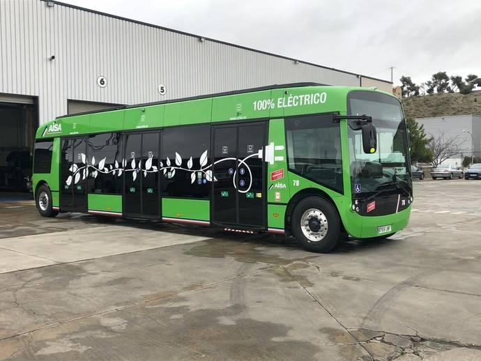 Madrid incorpora a la flota del Consorcio, el primer autobús 100% eléctrico