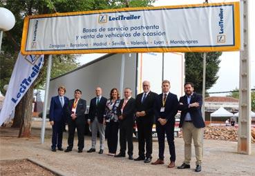 Lecitrailer participa en la primera feria de VO industriales