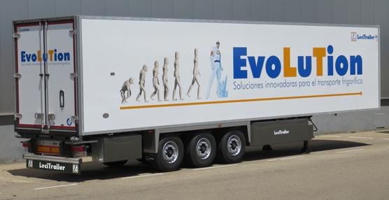 Evolution, última novedad de Lecitrailer para el segmento frigorífico