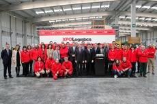 Nuevo centro de coordinación internacional de mercancías de XPO Logistics en Oiartzun.