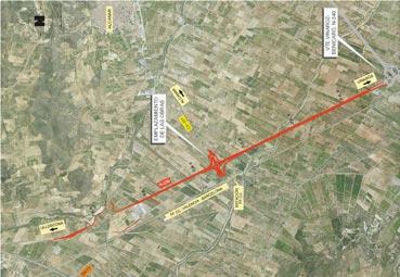 El Gobierno autoriza las obras en la carretera N-238