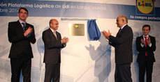 Inauguración de la cadena de suministro Lidl en Murcia.