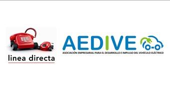 Línea directa, primera aseguradora en adherirse a la asociación empresarial del vehículo eléctrico