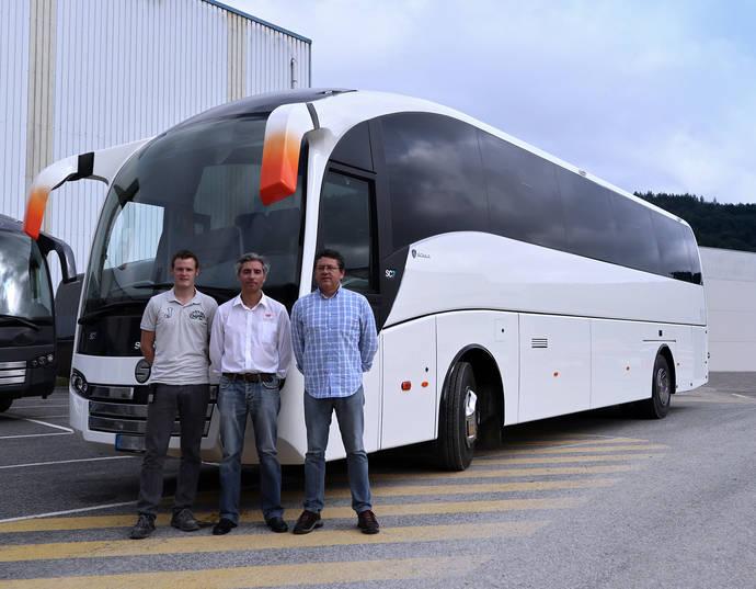La empresa portuguesa Little Bus estresa un SC7 de Sunsundegui