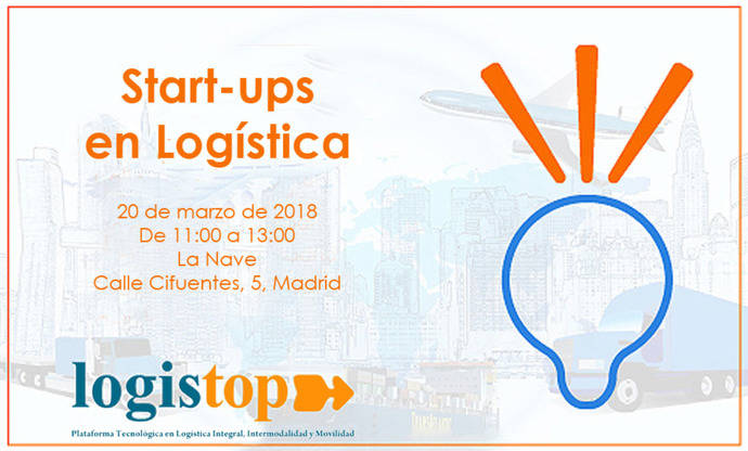 Cartel del evento de Logistop.