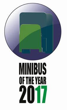 Logo creado para el premio de Minibus of the Year.