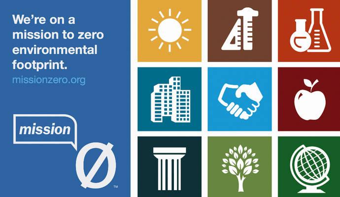 Logo de Mission Zero, de Interface.