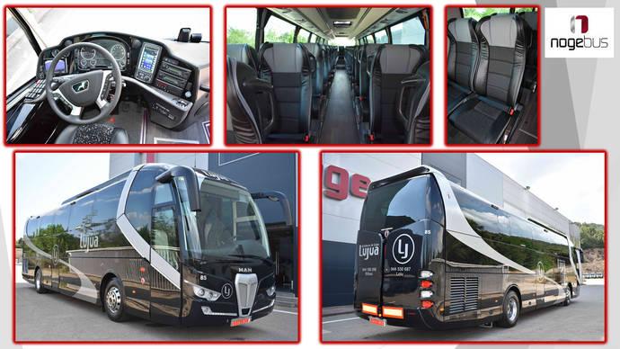 Autobuses de Lujua adquiere un vehículo Titanium 3.45 de Nogebus