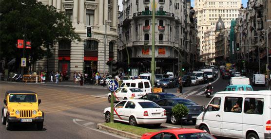 Los vehículos de transporte podrán circular por el centro de Madrid