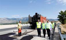Madrid inicia las obras de mejora del firme en la M-862 en Soto del Real