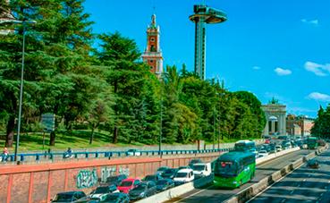 """El transporte público propone un """"billete gris"""" ante las restricciones de tráfico"""