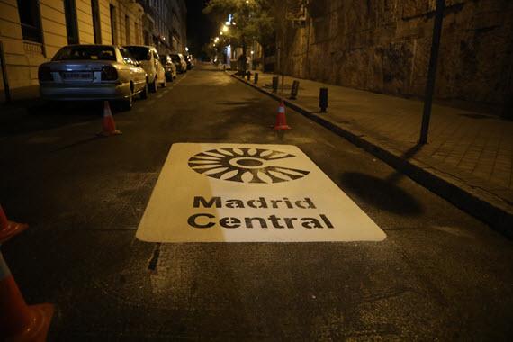 Cetm Madrid, en contra distribución nocturna de mercancías en Madrid Central