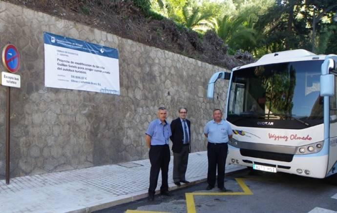 Málaga crea paradas para transporte discrecional