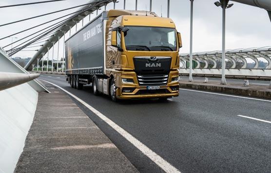 TÜV certifica el ahorro de hasta un 8,2% de combustible en los nuevos MAN