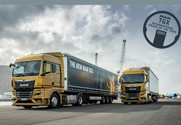 El nuevo MAN TGX, International Truck of the Year 2021