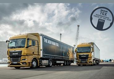 El nuevo MAN TGX, International Truck of the Year 2021