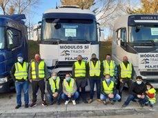Los transportistas de Navarra, en contra de la normativa de su Comunidad