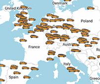 298 fábricas de automóviles operan en Europa
