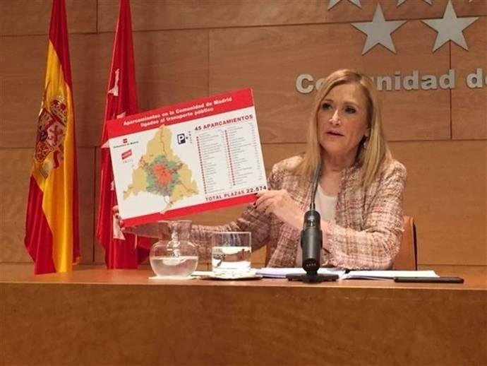 Madrid insta al uso de aparcamientos disuasorios