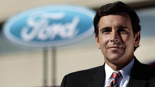 Mark Fields, presidente y consejero delegado de Ford.