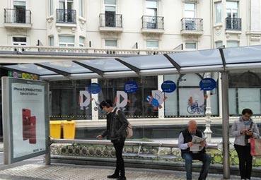 Dbus adjudica la renovación de marquesinas en San Sebastián