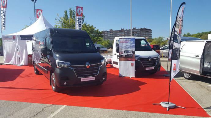 Renault Trucks presenta su Master, con la versión eléctrica y un acabado exclusivo