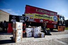 El transporte solidario de Scania se pone en marcha