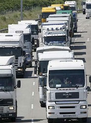 Las matriculaciones de vehículos industriales alcanzan las 2.094 unidades