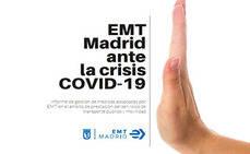 Medidas de EMT Madrid ante la crisis sanitaria del coronavirus