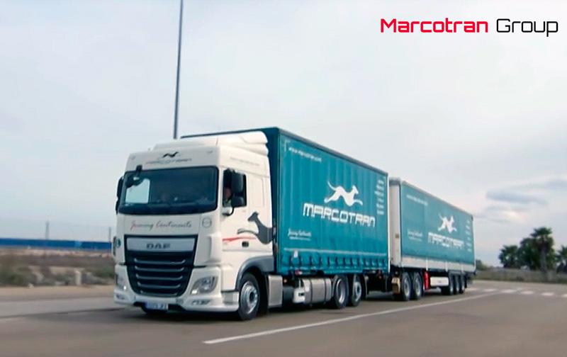 Marcotran realiza el primer tránsito regular del megacamión a nivel nacional