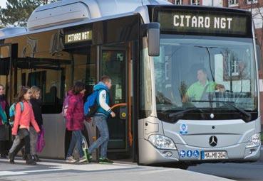 El Mercedes-Benz Citaro NGT híbrido dará servicio en Augsburgo