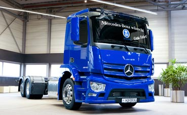 Hofbräu München renueva su flota con Mercedes-Benz