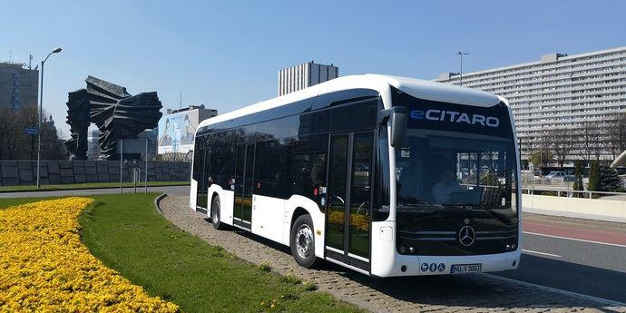 La ciudad polaca de Gdynia realiza un encargo de 24 eCitaro e-buses