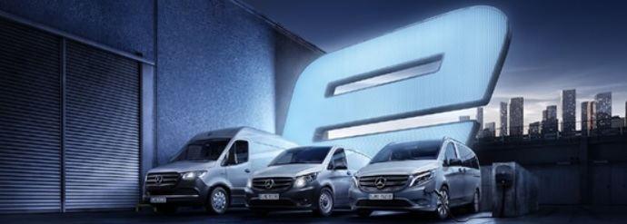 Autolica Industriales presenta la gama 100% eléctrica de Mercedes-Benz Vans