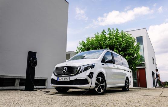 Mercedes-Benz EQV: estreno del primer MPV 'premium' totalmente eléctrico
