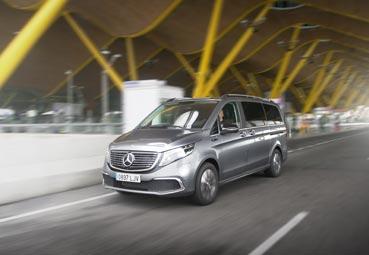 Mercedes-Benz ya tiene en las calles de España sus primeras unidades del EQV