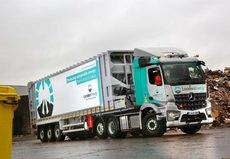 LondonEnergy incorpora cinco Mercedes-Benz Arocs a su flota de vehículos