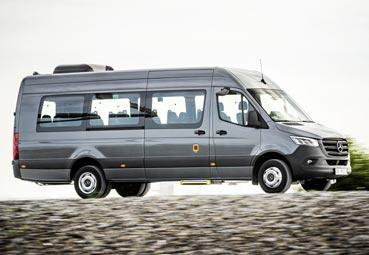 Mercedes incorpora nuevos minibuses a su nueva generación