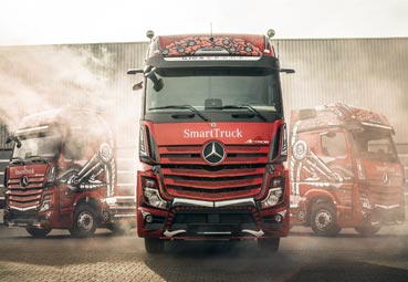 El Mercedes-Benz Actros es elegido 'camión del año' en Polonia