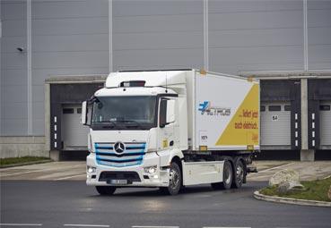 Mercedes-Benz Trucks sigue con las pruebas del eActros