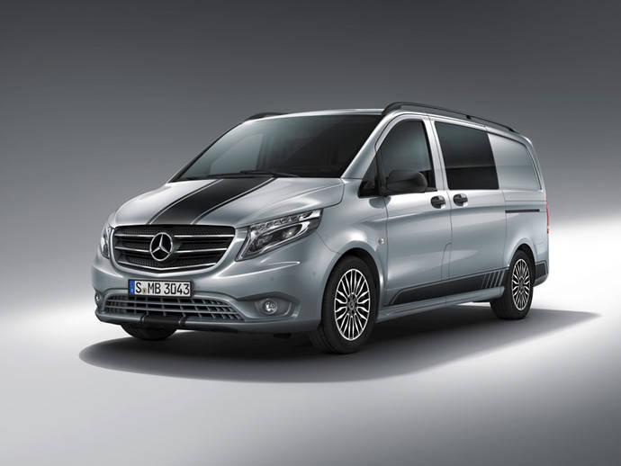 Mercedes-Benz actualiza la Vito con la línea Sport