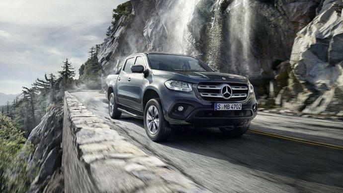 Mercedes presentará su nueva pickup Clase X en el Motor Show de Ginebra