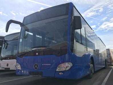 Autos Cal Pita incorpora dos autobuses Citaro Le Ü de Mercedes Benz