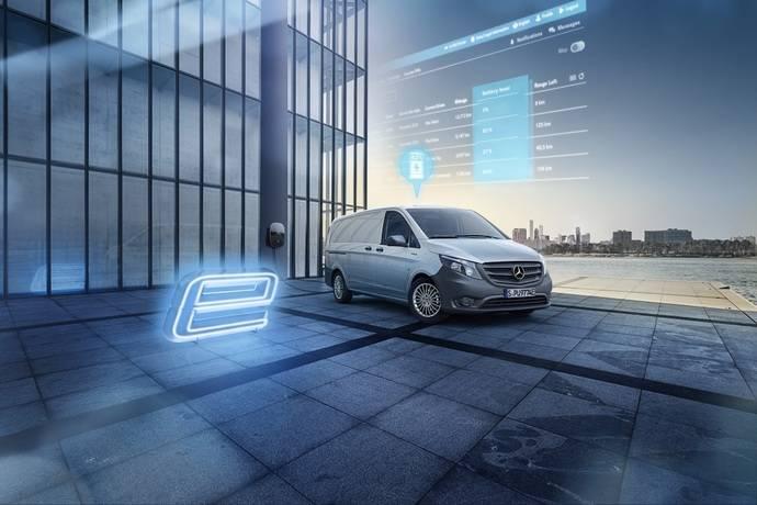 Conectividad a medida para las furgonetas eléctricas de Mercedes-Benz