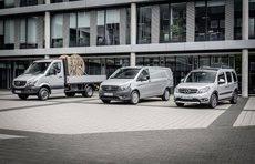 Modelos de Mercedes Benz Vans.