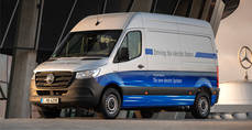 Electrificación de flotas con la Sprinter de Mercedes-Benz