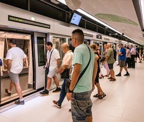TMB supera por primera vez los 600 millones de viajes anuales en sus redes