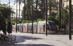 El metrocentro de Tussam gana 56.646 viajeros